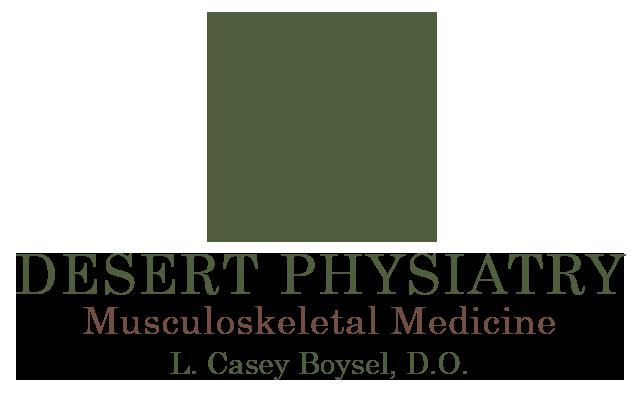 DESERT PHYSIATRY Logo